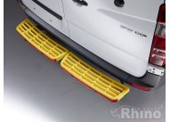 Twin step yellow - with reverse sensors