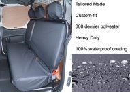Tailored Rear 3-Seater Bench - Black