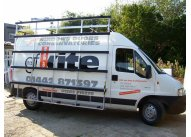 Citroen Relay MWB - Aluminium Glass Rack (LxH) 2600 x 2500