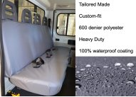Crew Cab - Tailored Rear Passenger Seat only - Grey
