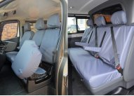 Crew Van SX Tailored Driver, Double Passenger and Rear - Grey