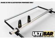 L2 H1 - 2 x HD ULTI bars with s/steel rear roller