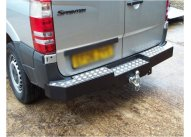 Rear Step Towing Bumper