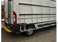 Citroen Dispatch L1 H1 - Aluminium Glass Rack (LxH) 1800 x 2000