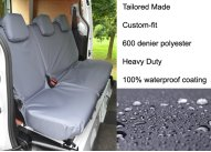 Tailored Rear Single & Double Seat - Grey