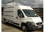Citroen Relay L3 H2 - Aluminium Glass Rack (LxH) 3500 x 2500