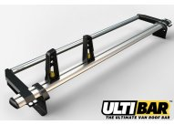2 x HD ULTI bars with s/steel rear roller