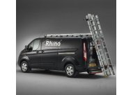 3.1m SafeStow4 - H1 Roof Height Extra Wide Ladder - 3 roof bars