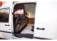 Tilt & Fold Rear Seat, Headrests, 2 x lap and diagonal belts