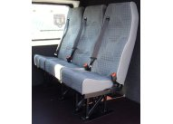 High Back Treble with 3pt seat belts, M1/N1 Tested