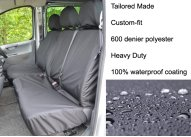 Tailored Front Pair - Driver & Double Passenger - Grey