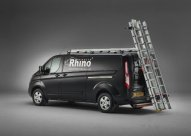 2.2m SafeStow4 - Double Ladder version with 3 roof bars