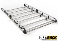 Long (L3 H1) - 7 bar ULTI rack with rear roller