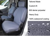 Tailored Front Pair - Driver & Single Passenger - Grey