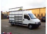 Citroen Relay L1 H1 - Aluminium Glass Rack (LxH) 2400 x 2000