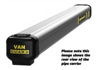Van Guard 2 metre MAXI aluminium pipe carrier with rear opening
