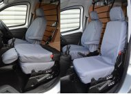 Tailored Front Pair - Driver & Folding Single Passenger - Grey