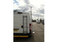 Citroen Relay L2 H2 - Aluminium Glass Rack (LxH) 2600 x 2500