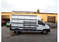 Citroen Relay LWB - Aluminium Glass Rack (LxH) 3500 x 2500