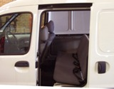 Tilt & Fold Rear Seat, Headrests, 2 x lap and diagonal belt
